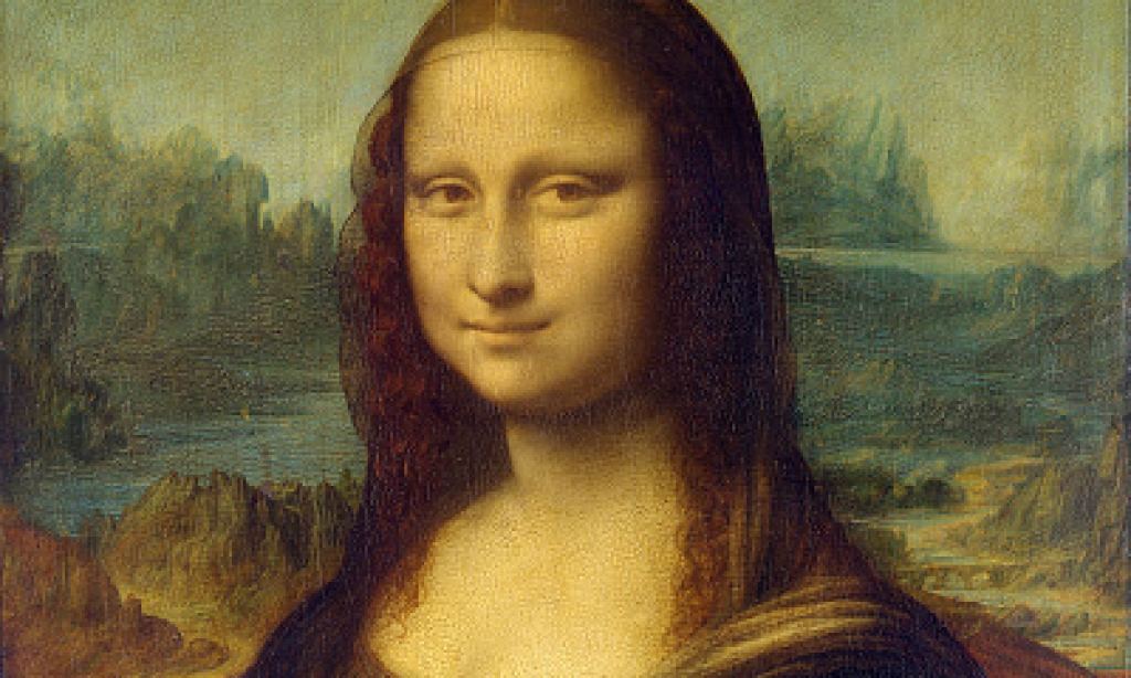 De Mona Lisa in 3D