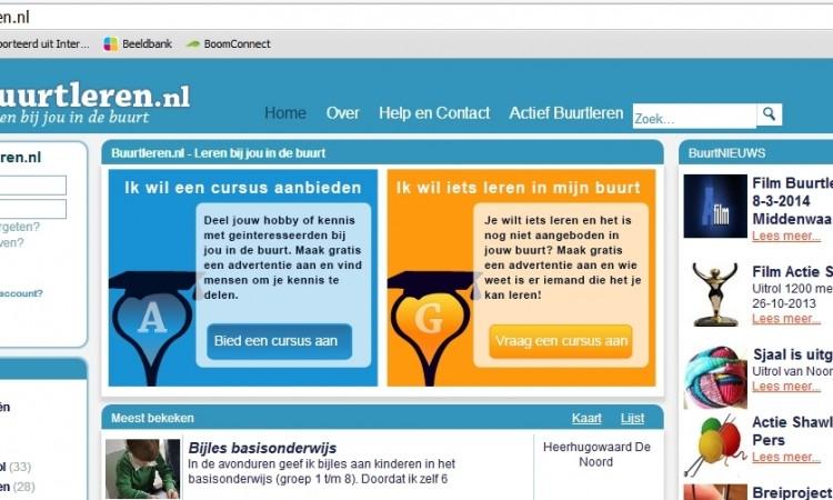 Buurtleren.nl: Marktplaats voor leren