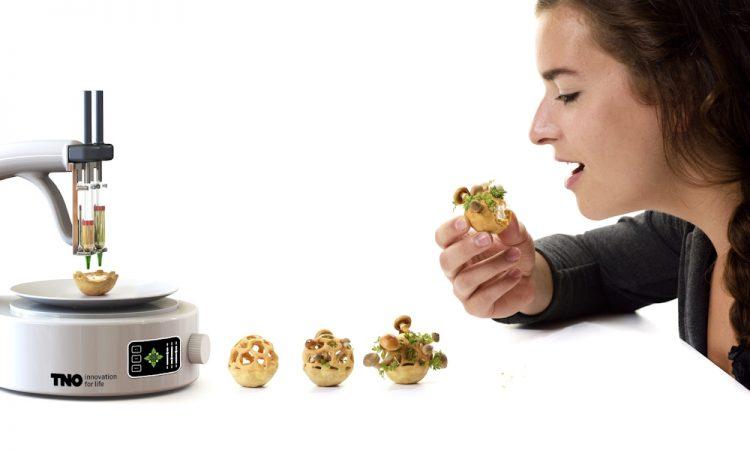 Beroep van de toekomst: Kok 3D Food printer