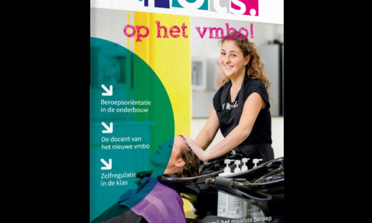 Gratis magazine: Trots op het vmbo